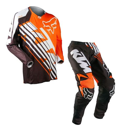 mens motocross fox racing mens mx atv 360 ktm jersey small pant