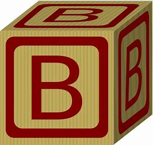 Alphabet block b clip art at clkercom vector clip art for Block letter art