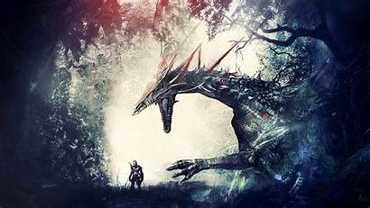 Dragon Knight Age Origins Artwork Warrior Fantasy