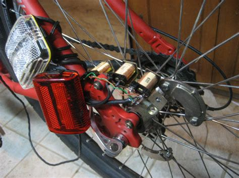 dynamo bike light diy bike lights