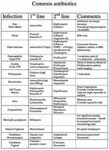 Antibiotics Guide
