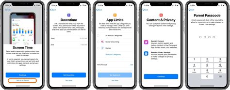 how do i set up my new iphone ios 12 how to set up screen time as a parent on a child s how d