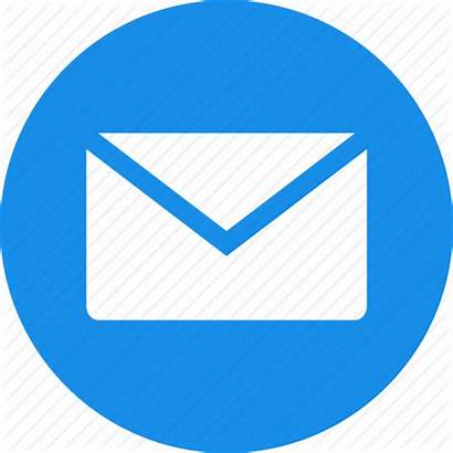 Icon Email Mail Circle Message Letter Messages