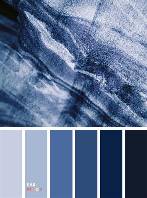 pretty winter color schemes dark blue grey