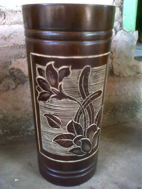 kerajinan lampu hias bambu pembuatannya