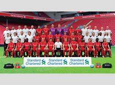 Download the brand new LFC squad photo Liverpool FC