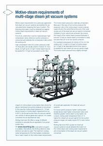 Multi Stage Steam Jet Vacuum Systems