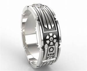 Star Wars Wedding Band For Men Vidar Jewelry Unique