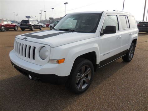 white jeep 2016 2016 jeep patriot sport 2 4l automatic suv white color