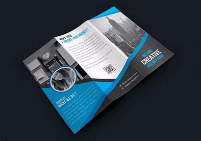 Brochure Fold Tri Creative Corporate Premium Brochures