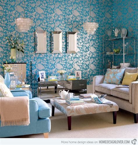 Brown And Aqua Living Room by 15 Interesting Combination Of Brown And Blue Living Rooms
