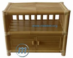 Kommode Für Fernseher : bambusm bel bambusschrank kommoden asmat aus schwarzem bambus ~ Frokenaadalensverden.com Haus und Dekorationen