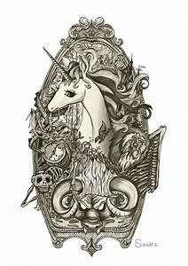 Schöne Einhorn Bilder : bildergebnis f r einhorn tattoo schwarz tattoo design paintings einhorn tattoo einhorn und ~ Frokenaadalensverden.com Haus und Dekorationen