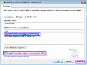 S39attribuer Le Contrle Total Sur Un Dossier Fichier