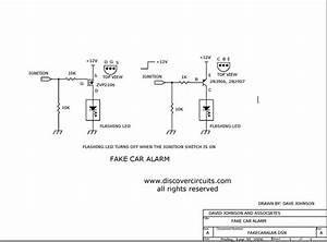 Fake Car Alarm Light