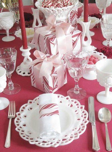 ideas  christmas tables  pinterest