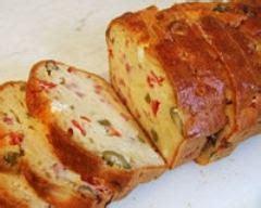 recette cake aux olives  jambon cru