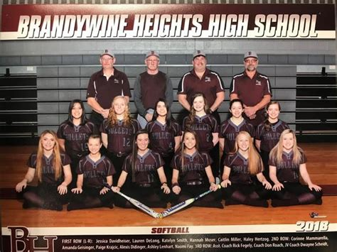 brandywine heights girls varsity softball spring schedule