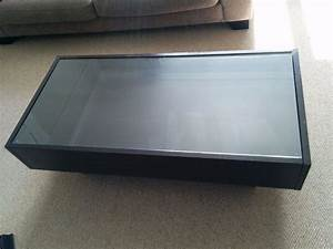 Ikea coffee table glass top roselawnlutheran for Coffee table with storage and glass top