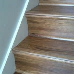 Shaw Laminate Flooring Problems by Luxury Vinyl Wood Planks On Stairs For The Home