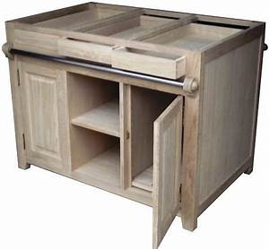 Meuble Bois Brut : meuble brut en chne massif ~ Teatrodelosmanantiales.com Idées de Décoration