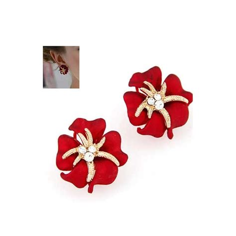 Murah Anting Bunga anting wanita motif bunga tt0187 moro fashion