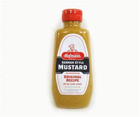 german mustard hofmann german style mustard 12 oz syracuse crate