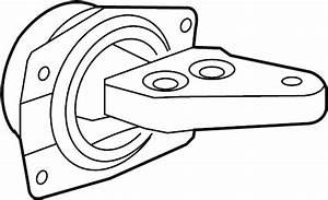 Chevrolet Malibu Automatic Transmission Mount  Upper