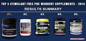 Best Stimulant Free Pre Workouts Of 2016