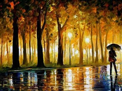 Painting Oil Wallpapers Paint Desktop Afremov Leonid