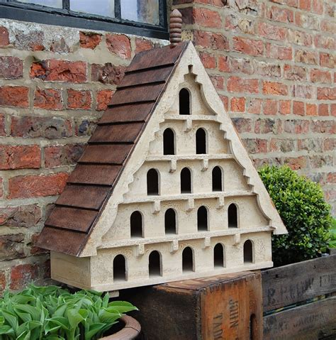 Vintage antique wooden dovecote