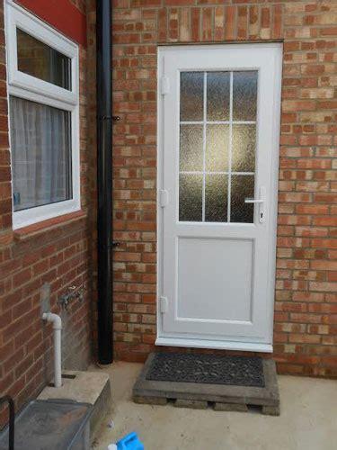 glazed flat panel xg style upvc  door
