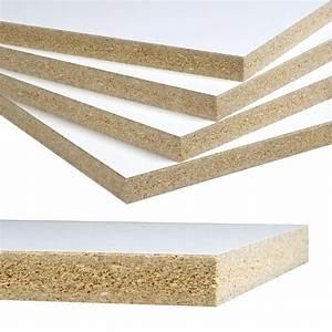 Melamine White Panel (Common: 3/4 in x 4 ft x 8 ft