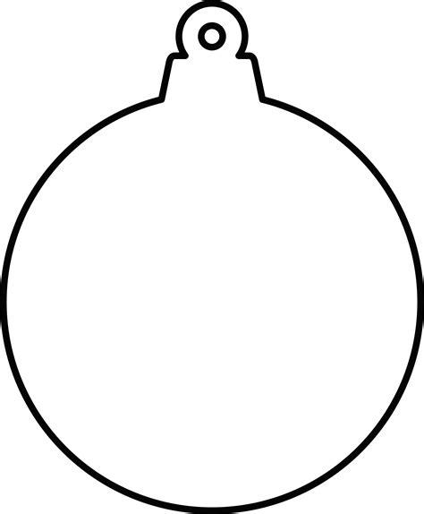 Ornament Template Clipart Ornament Shape