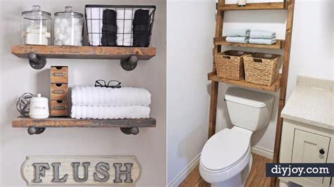 Diy Bathroom Storage Ideas by 34 Bathroom Storage Ideas Guaranteed To Get You Organized