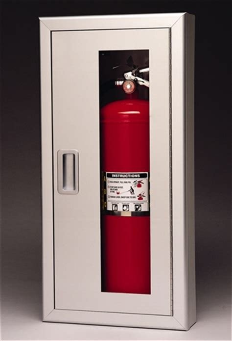 Larsens Extinguisher Cabinets 2409 R4 by Triangle Inc Extinguisher Cabinets Larsen S
