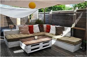 Palette De Bois : canape en bois de palette ~ Premium-room.com Idées de Décoration