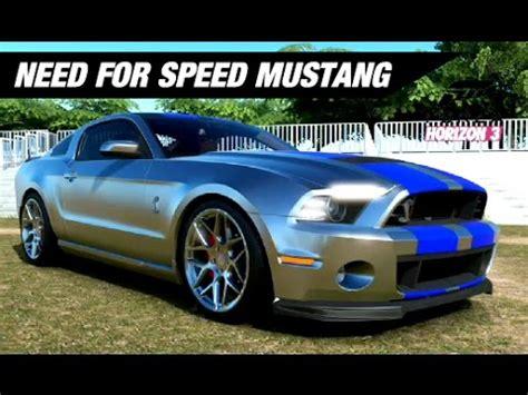 speed mustang build forza horizon  youtube