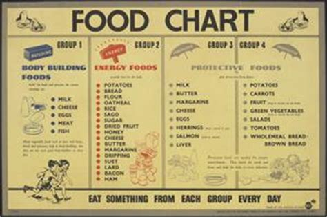 food chart body building foods energy foods