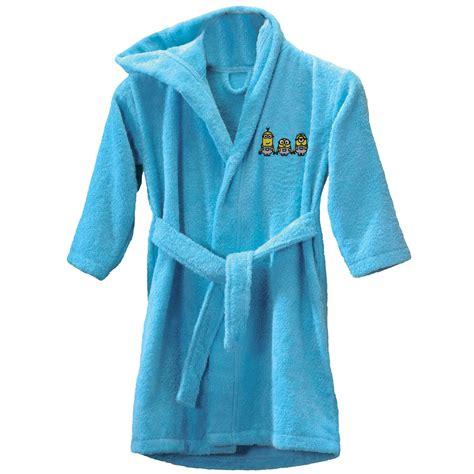 robe de chambre high minions sponge peignoir 2 4 ans réf min430183