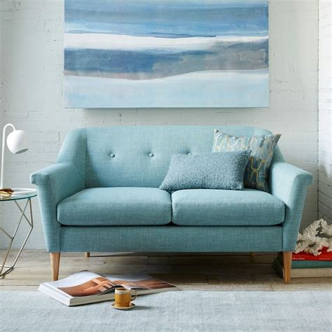 Small Loveseats For Apartments by The Best Sofas For Small Spaces