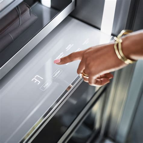 drrlap dacor modernist  column fridge panel ready left hinge