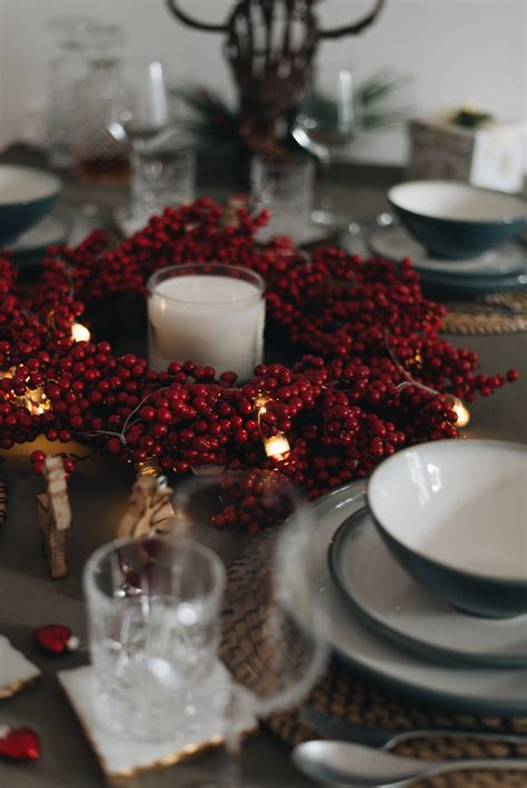Tischdeko Weihnachten 2017 by Anleitung Weihnachtliche Tischdeko Modern Und Festliche