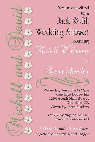 coed wedding shower c67 custom personalized wedding bridal baby shower anniversary birthday invitations invite