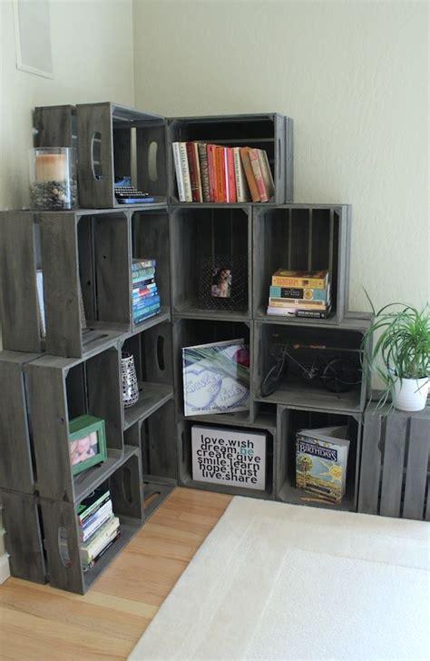 image result  crate corner bookshelf christmas