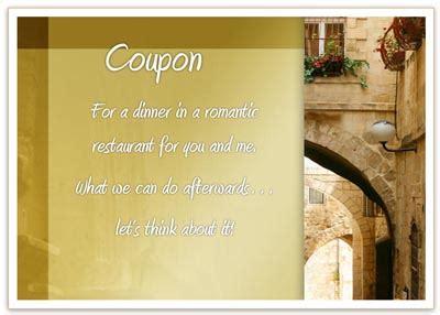 dinner coupon template  gift voucher