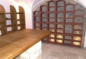 Construire Une Cave Voutée En Pierre : exemples d 39 am nagements de cave vin le bloc cellier ~ Zukunftsfamilie.com Idées de Décoration