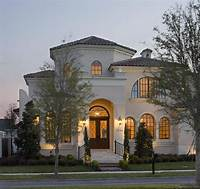 mediterranean style homes Small luxury homes, starter house plans