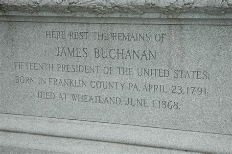 Images and More: Passed Presidents # 15 James Buchanan