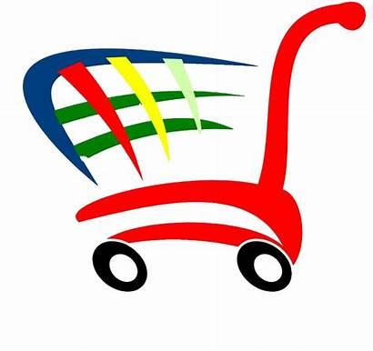 Shopping Clipart Bag Compras Carrito Grocery Centre